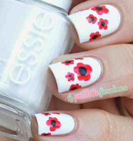 nailstorming summer is coming - poppy nails