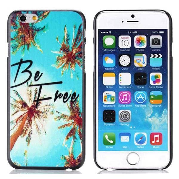 Be Free Quote hardcase hoesje voor iPhone 6 Plus