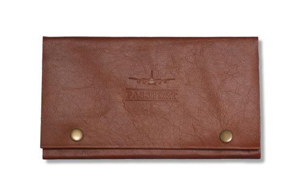 Handcrafted Leather Travel Wallet  #boundinbendigo #travel