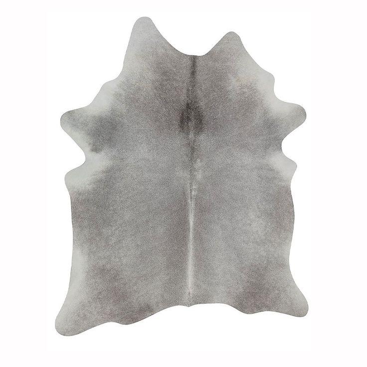Argentinian Cowhide Rug Grey | Urban Couture - Designer Homewares & Furniture Online