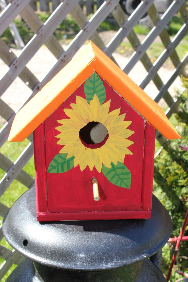 Best 25 bird houses painted ideas only on pinterest for Best birdhouse designs