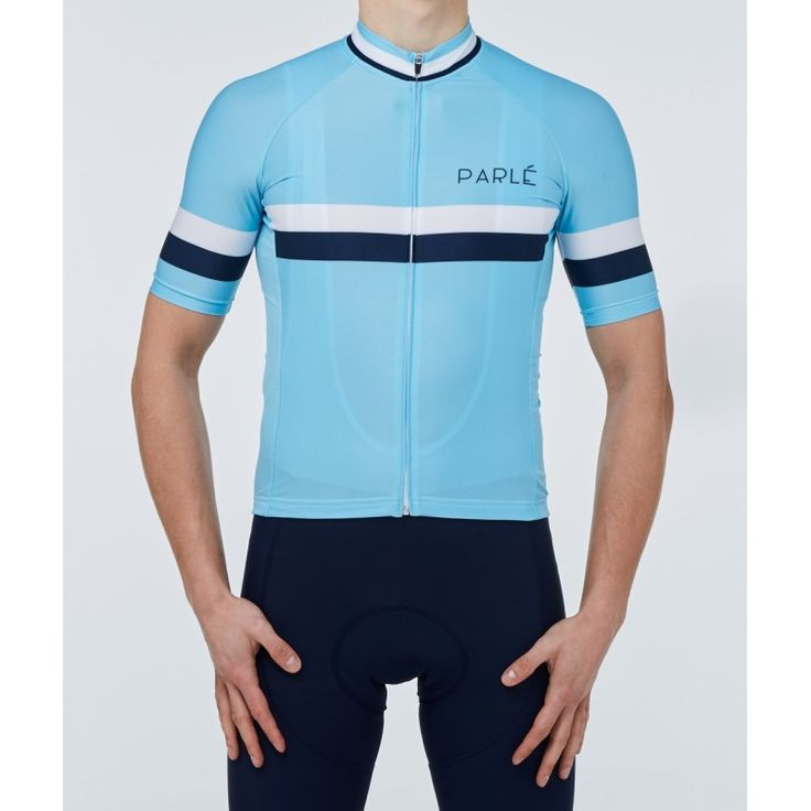 https://parle.cc/en/jerseys/19-summer-sky-jersey.html Parlé Cycling. Summer Sky Jersey. A jersey that combines a vintage pattern with a modern cut. The use of high-quality Italian materials provides excellent air circulation and moisture drainage. The silicone trimming on the bottom of the jersey increases comfort of use. It's ideal for summer driving for those who appreciate timeless cycling design.