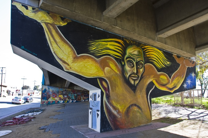 13 best images about murals on pinterest mars on the for Chicano mural art
