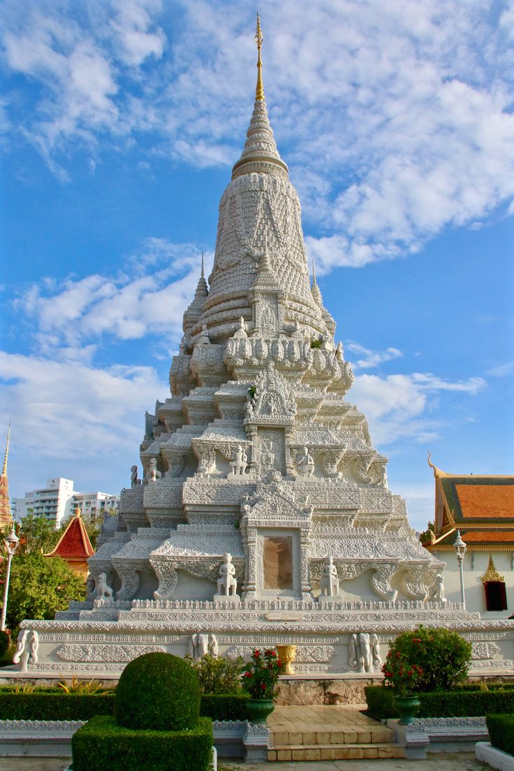 Royal Stupa, Phnom Penh Phnom penh, Cambodia, Stupa