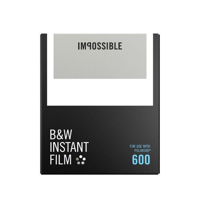 Impossible Film noir et blanc pour Polaroid® 600 à 22 EUR sur lick.fr