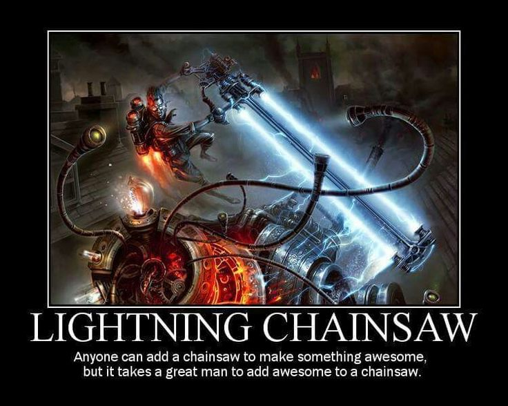 Lightning Chainsaw Game Design Dnd Funny D Amp D Fantasy Rpg