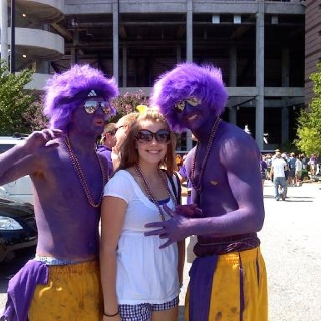 Freshman year swaggged out at ECU game. PIRATE NATION!! Arghhh!
