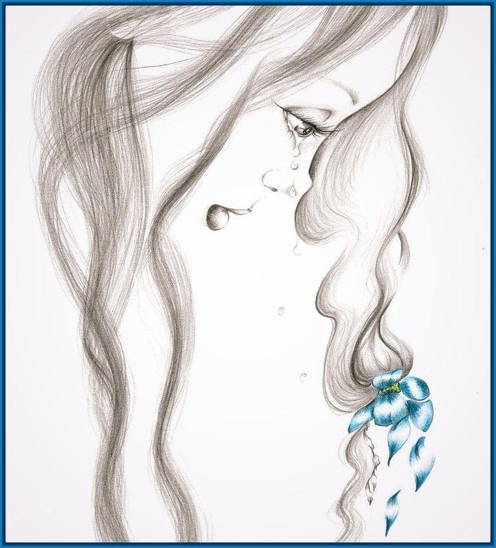 Imagen Relacionada Color Pencil Sketch Pencil Drawings Of Girls Fine Art Giclee Prints