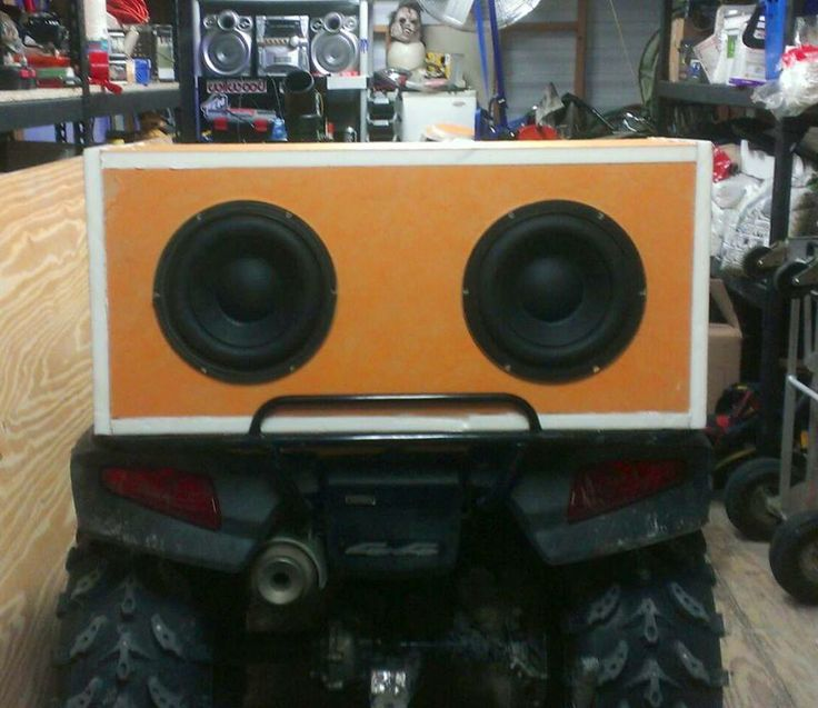 David from Lacasse Tile Inc. sent in this picture of a speaker box that he made out of KERDI-BOARD for his four wheeler. He said it's light, strong, and sounds awesome. Schluter loves unusual uses of our products-- this one is music to our ears!