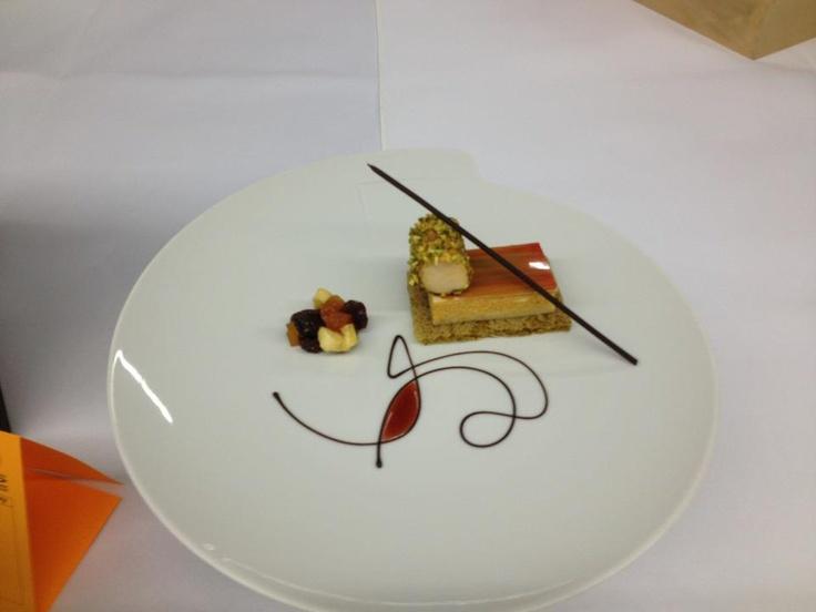 Culinary Olympics 2012 Chocolate Sauce And Raspberry