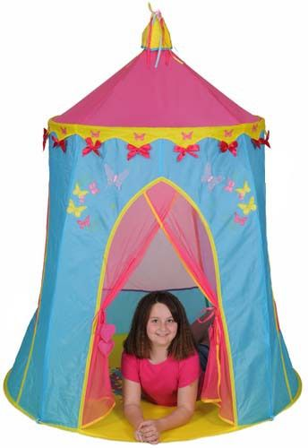 Just Kiddin' - Butterflies & Bows Play Tent - bubbalove.com.au