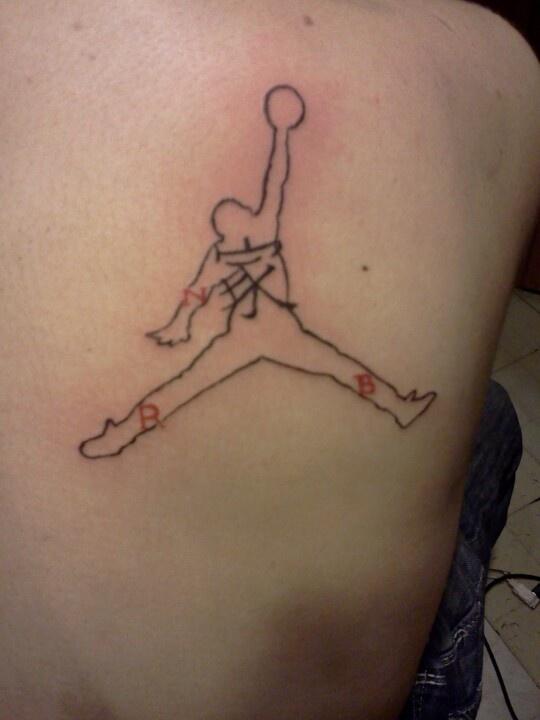 air jordan tatuaje