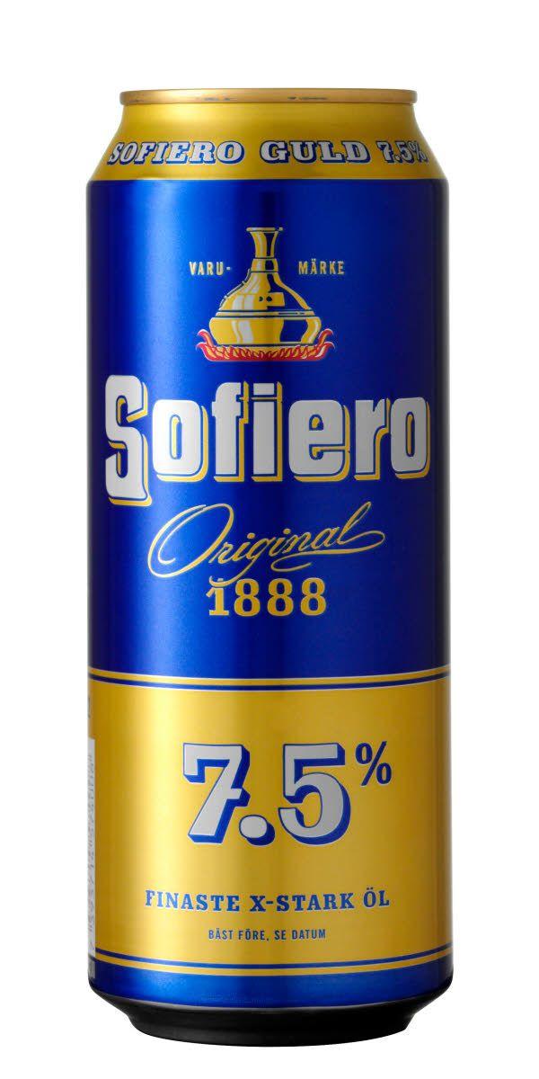 Sofiero Guld är alkoholstarkare variant av originalet Sofiero. APK 2,52