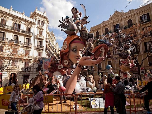 Fallas de Valencia... Missed the festival.. but we saw them at Dia de San Juan in Alicante!