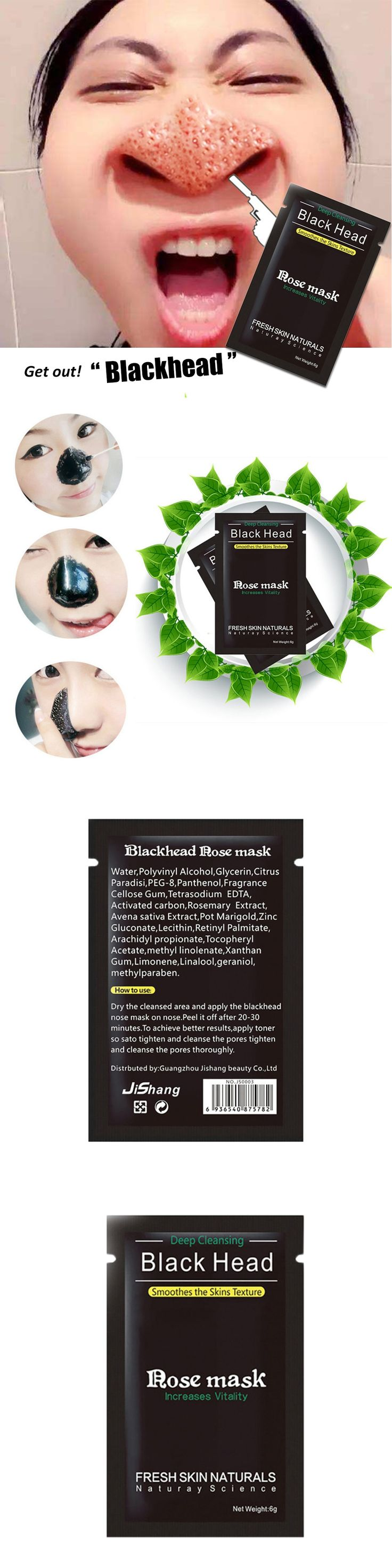 Black Head Acne Treatments Cream Face Care Suction Mask Nose Blackhead Remover Peeling Peel Off Facial Mask Cleansing