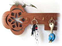 Scroll Saw Patterns :: Handy items :: Key hangers -