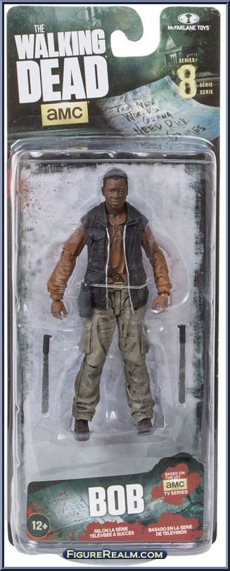 Bob Stookey from Walking Dead (McFarlane) - TV Series 8 manufactured by McFarlane [Front]