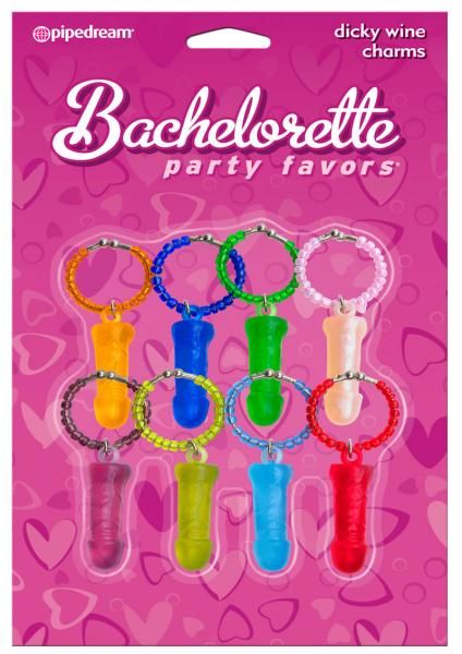 Bachelorette Party Favors Dicky Wine Charms Assorted Colors 8 Per Pack #sextoys #sextoysshop #Games #Novelties #extras #Couples #Pleasure #Party #Fun #playing #cards #Bongage #Body #Fetish #Sex #Toys ... For more information visit: www.sextoysshop.com