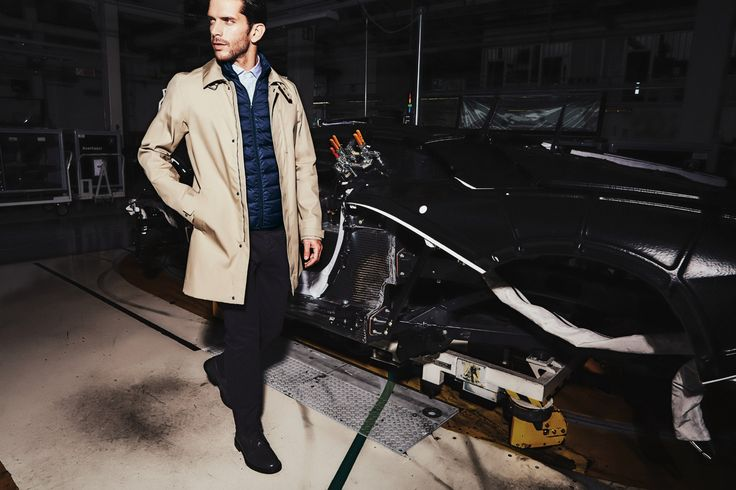 Under the skin of the Aventador there's more style and elegance. The man with the Trench Coat Automobili Lamborghini Collection Autumn Winter 2015: Excellence is just the beginning. Check out the new collection on lamborghinistore.com