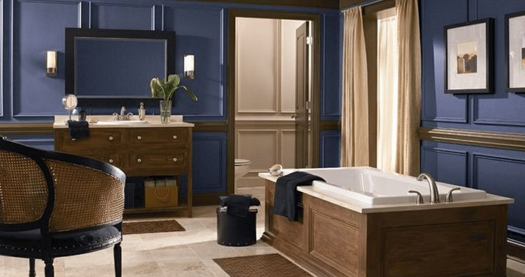 Color Tips for a Luxurious Bath on a Budget
