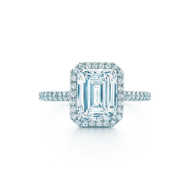 Tiffany Soleste® Emerald Cut Engagement Rings | Tiffany ...