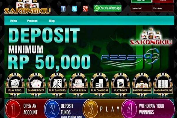 Login Site Pkv Games Bandar Poker Online