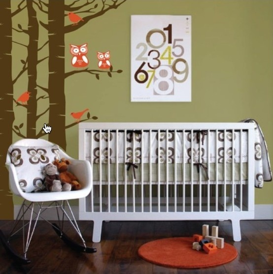 Olive Green Brown And Orange Nursery Baby Room Ideas Pinterest Colors The O 39 Jays And
