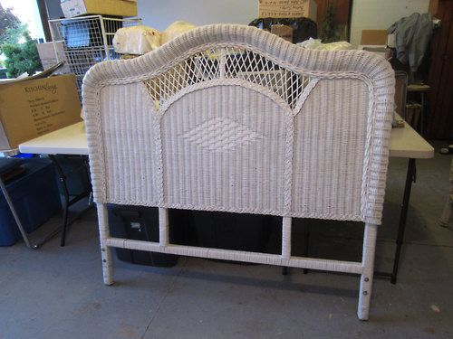 140 best images about white wicker on pinterest full - Pier one white wicker bedroom furniture ...