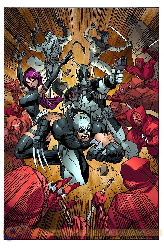 X-Force by Ale Garza, Sean Parsons, & Dommo Sanchez Amara *