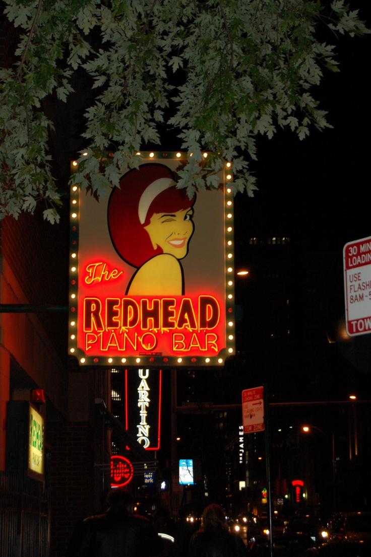 Redhead Piano Bar, Chicago LOVE IT!