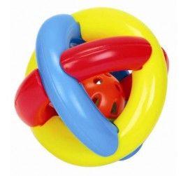 Hem neşeli bir çıngırak, hem de banyo oyuncağı! Minik parmakların kolayca tutmasına uygun yapısı ve yumuşak dokusu sayesinde bebeğiniz Çıngır Topu hiç elinden bırakmayacak.
