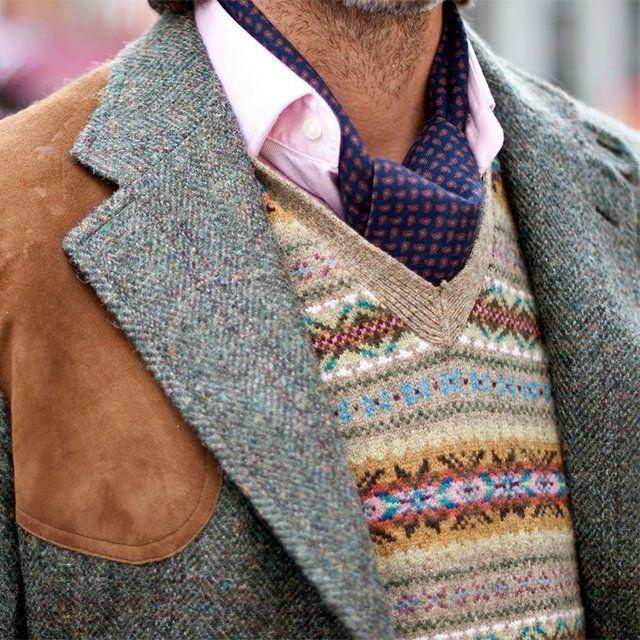 161 best Men's Fair Isles images on Pinterest | Mode masculine ...