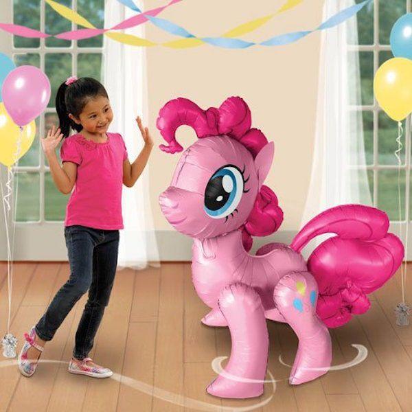 """My Little Pony Pinkie Pie Air Walker Balloon Airwalker Birthday Party Decor 47"""" #Anagram #BirthdayChild"""