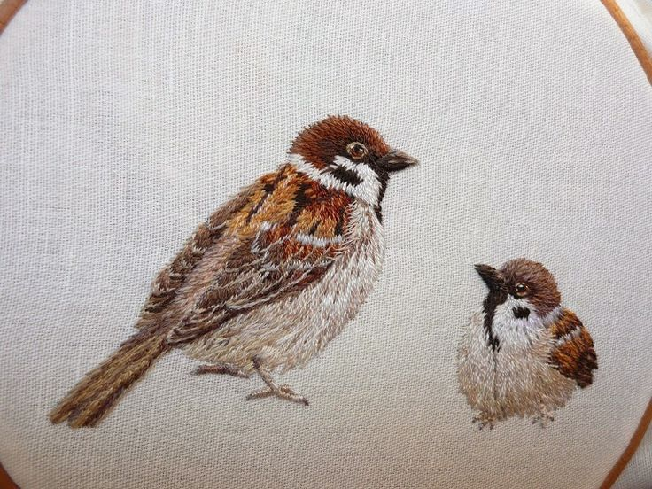 Okyo is in the room .: embroidery (embroidery)