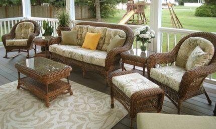 Empire Resin Wicker Patio Furniture Set