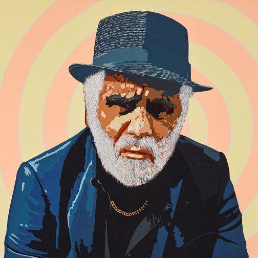 Richard Bell, self portrait - Archibald Prize 2015 finalist