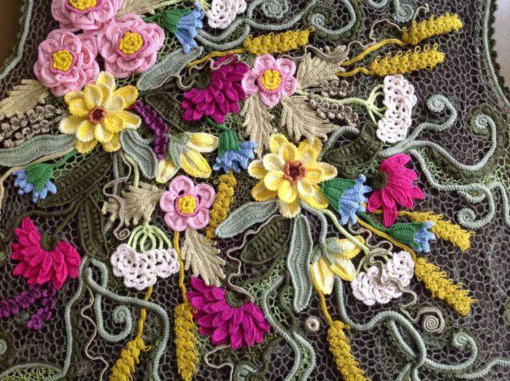 Ирина Турецкова Бондаренко.  Irish crochet. Freeform. irish crochet patterns…