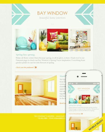 8 best Email Newsletters Templates images on Pinterest Email - free email newsletter templates word