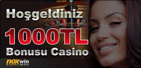 NoxWin Casino Bonusunu 1000 TL Yaptı
