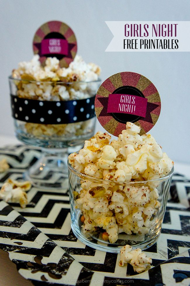 Girls Night with Low Calorie Popcorn on www.strawberrymommycakes.com #SkinnyGirlSnacks #CollectiveBias #shop
