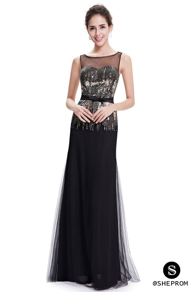 Only $59, Women's Elegant Black Round Neck Tulle Evening Formal Dress #EP08602BK at #SheProm. SheProm is an online store with thousands of dresses, range from Prom,Formal,Party,Evening,Black,Long Black Dresses,Sparkly Dresses,Sequin Dresses and so on. Not only selling formal dresses, more and more trendy dress styles will be updated daily to our store. With low price and high quality guaranteed, you will definitely like shopping from us.