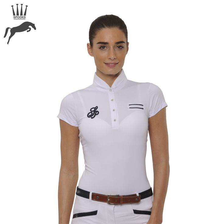 10 Must-Have Products for Show Jumpers - Spooks Kimi Strip Show Shirt - https://www.equiport.co.uk/blog/article/10-musthave-products-for-show-jumpers/