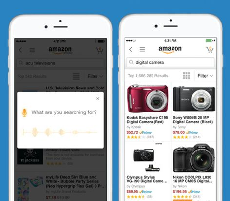 """Pinterest's @julieblack15  on why the Amazon app is a must for her: """"I shop on-the-go on a regular basis."""""""