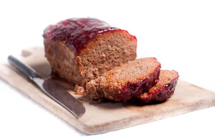 This meatloaf is made with naturally raised veal that's hormone and antibiotic free!