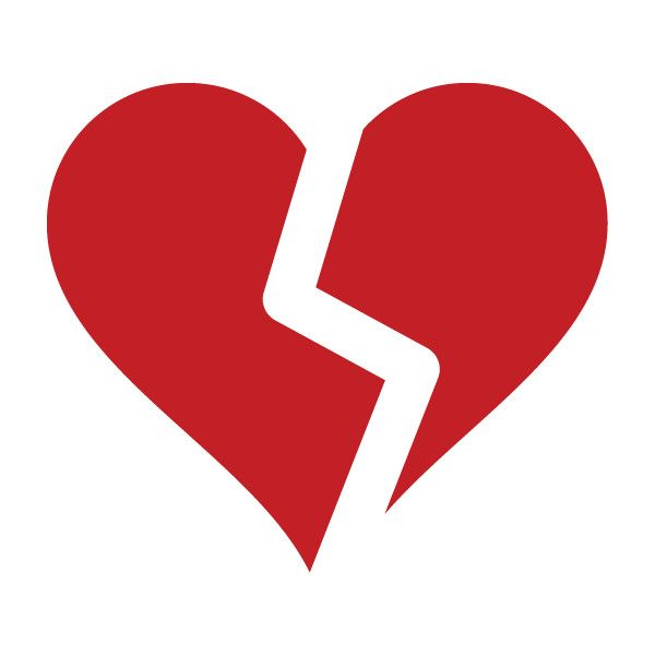 Broken Heart Symbol Clipart Library