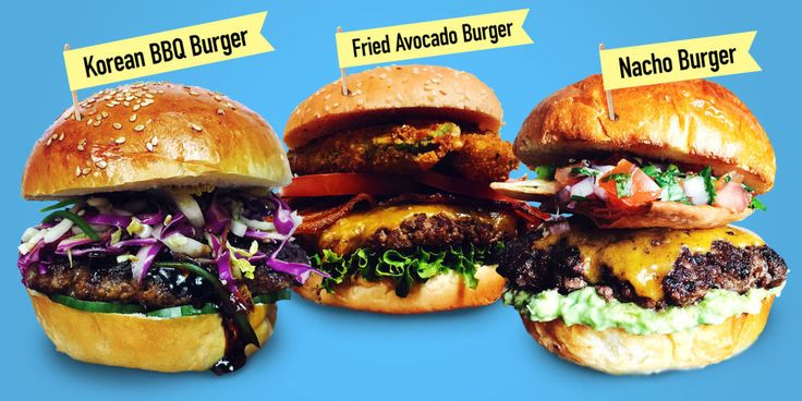 Dan Seidman, aka Chef Dan created seven burgers that are going to blow your mind this holiday weekend.