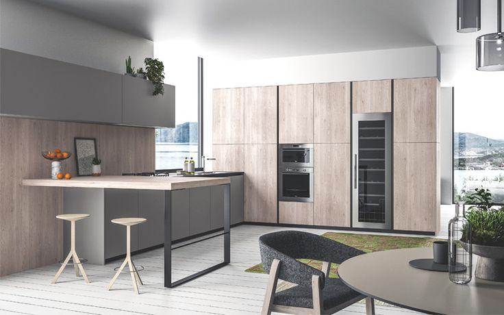 Progetto SMART nr.4 - Cucina #cucine #kitchens #arredamento #home #design
