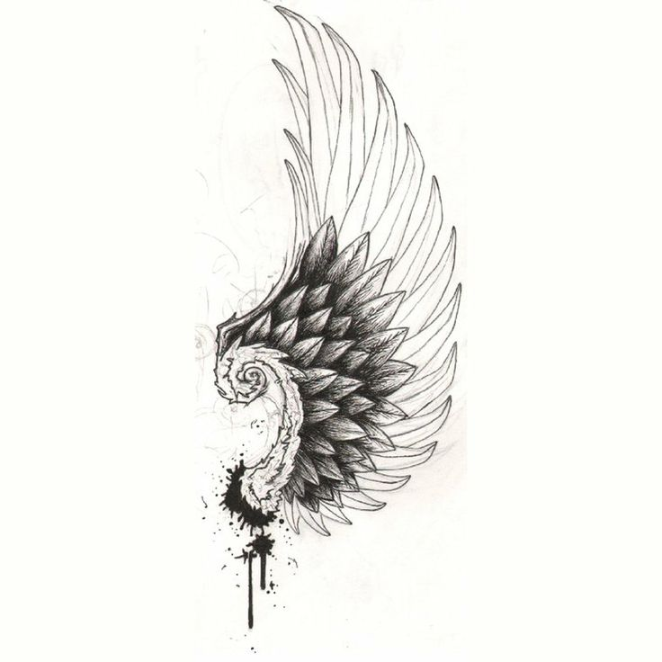 Finally found a design of Hermes Wing (protector of athletes) for around my ankle bone. by ILLGRL.deviantart.com on @deviantART