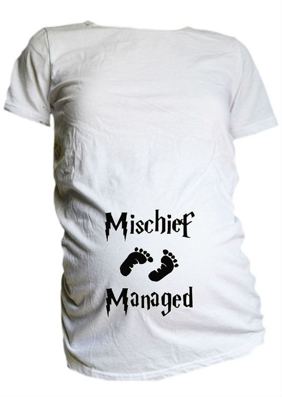 Mischief Managed Maternity T Shirt / Harry by ...