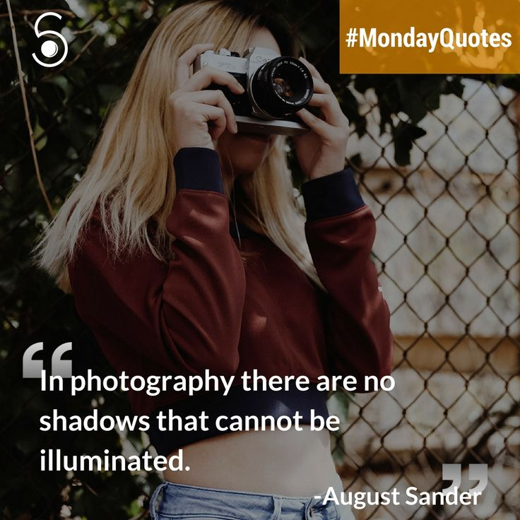 ❝In Photography there are no shadow that cannot be illuminated❞⠀ -August Sander